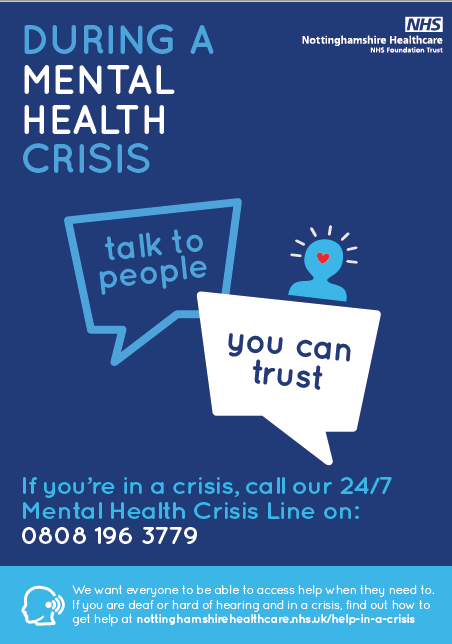 ment crisis poster